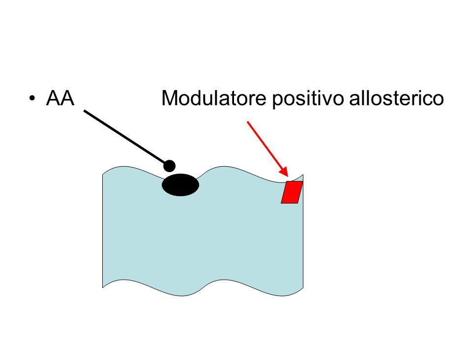 AA Modulatore positivo allosterico