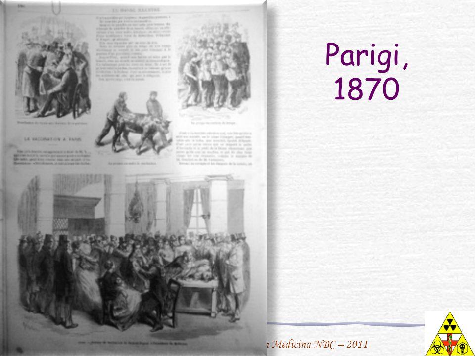 F. Urbano per il Master in Medicina NBC – 2011 Parigi, 1870