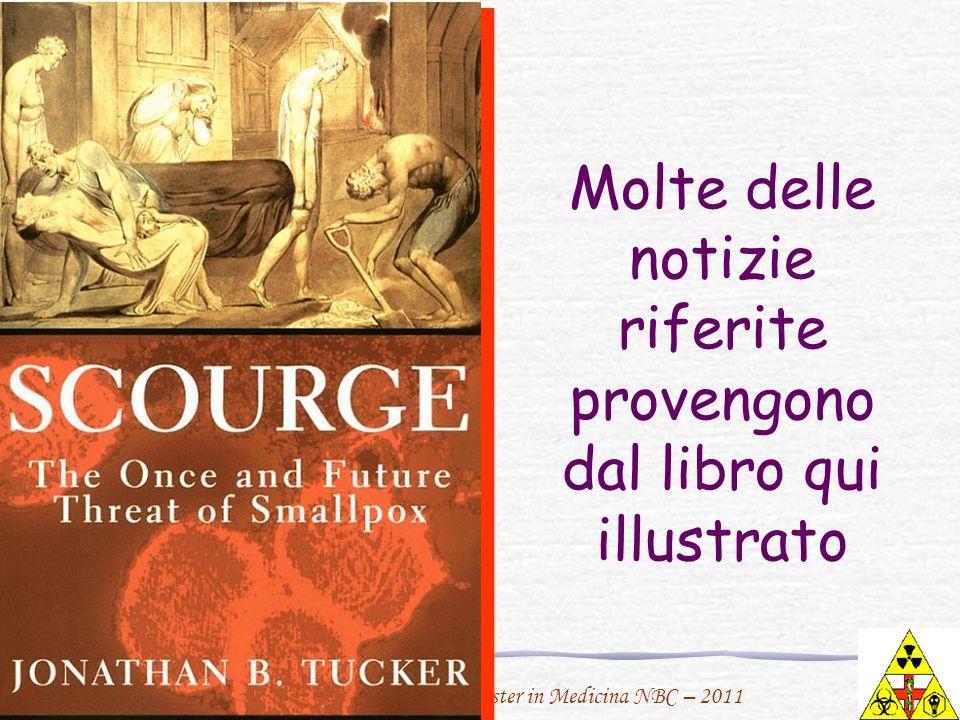 F. Urbano per il Master in Medicina NBC – 2011 Molte delle notizie riferite provengono dal libro qui illustrato