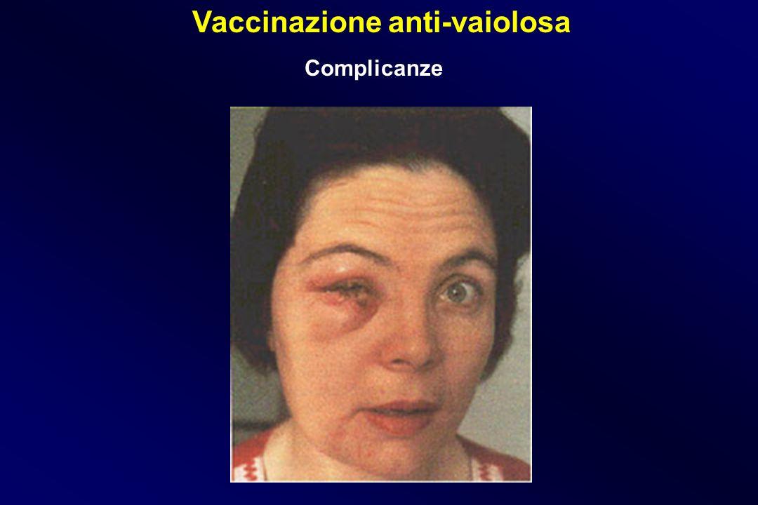 Vaccinazione anti-vaiolosa Complicanze