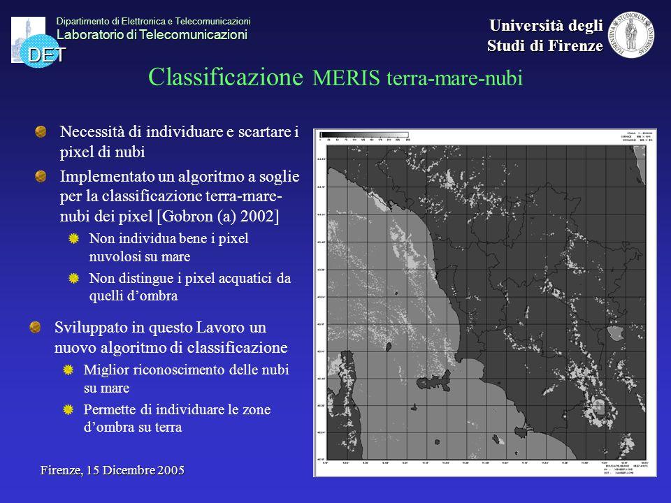 DET Dipartimento di Elettronica e Telecomunicazioni Laboratorio di Telecomunicazioni Università degli Studi di Firenze Firenze, 15 Dicembre 2005 Class