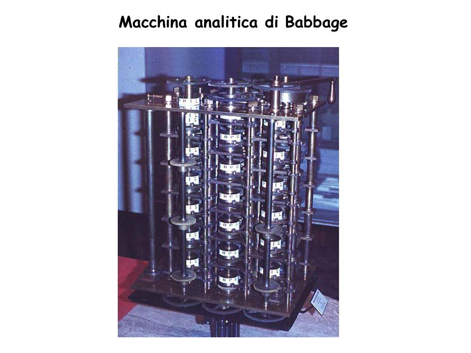 Macchina analitica di Babbage