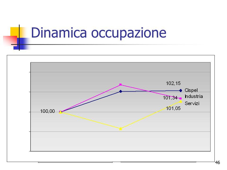 46 Dinamica occupazione