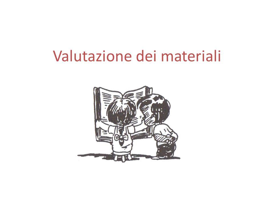 Valutazione dei materiali