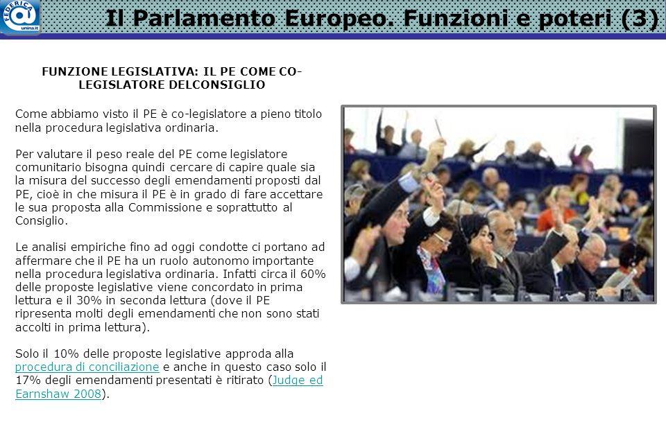 Il Parlamento Europeo.