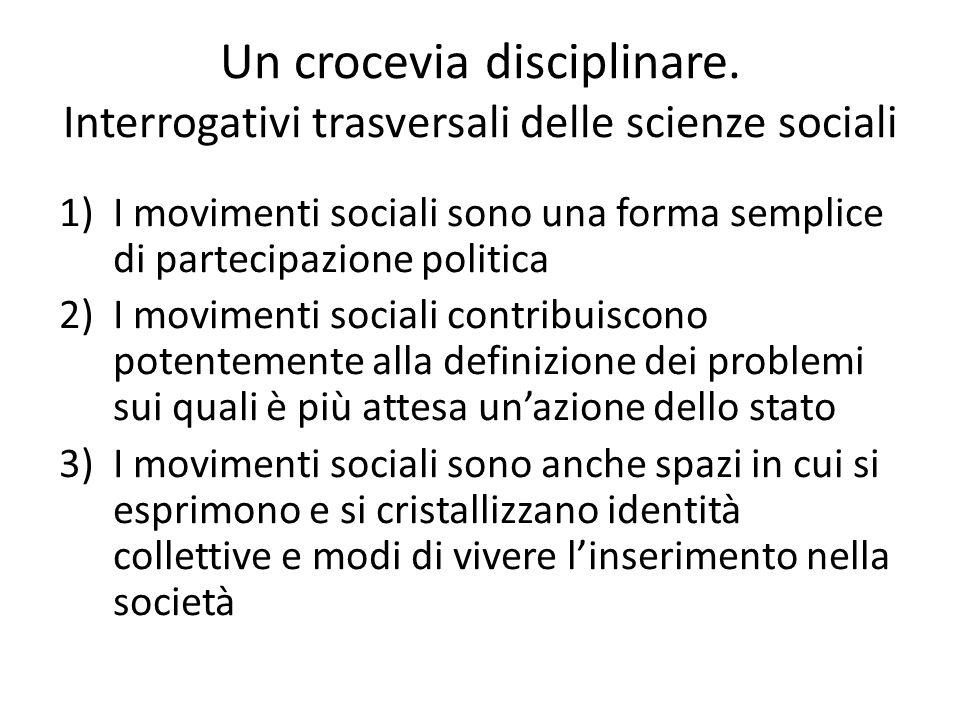 Problemi sociologici e sfide politiche.