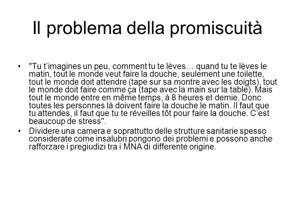 Il problema della promiscuità