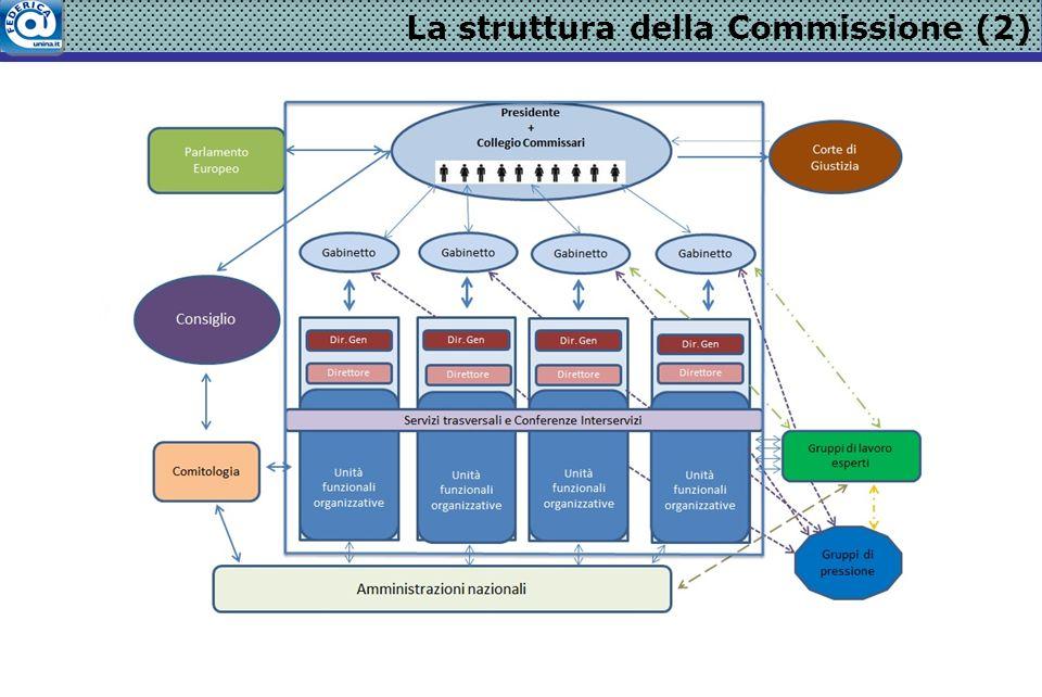 La struttura della Commissione (2)