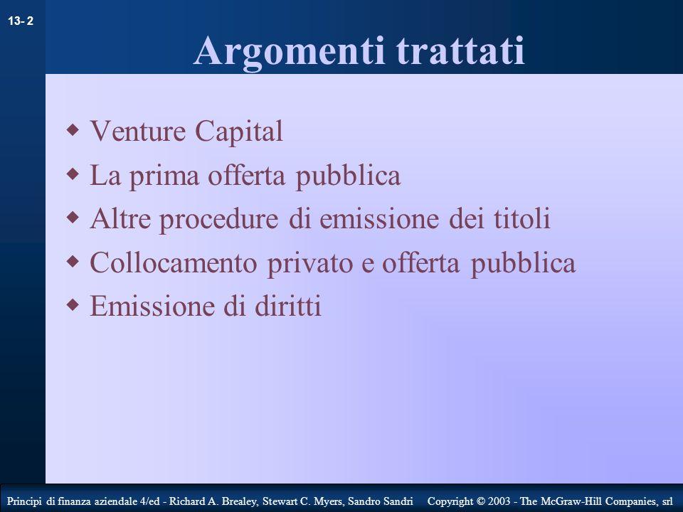 13- 13 Principi di finanza aziendale 4/ed - Richard A.