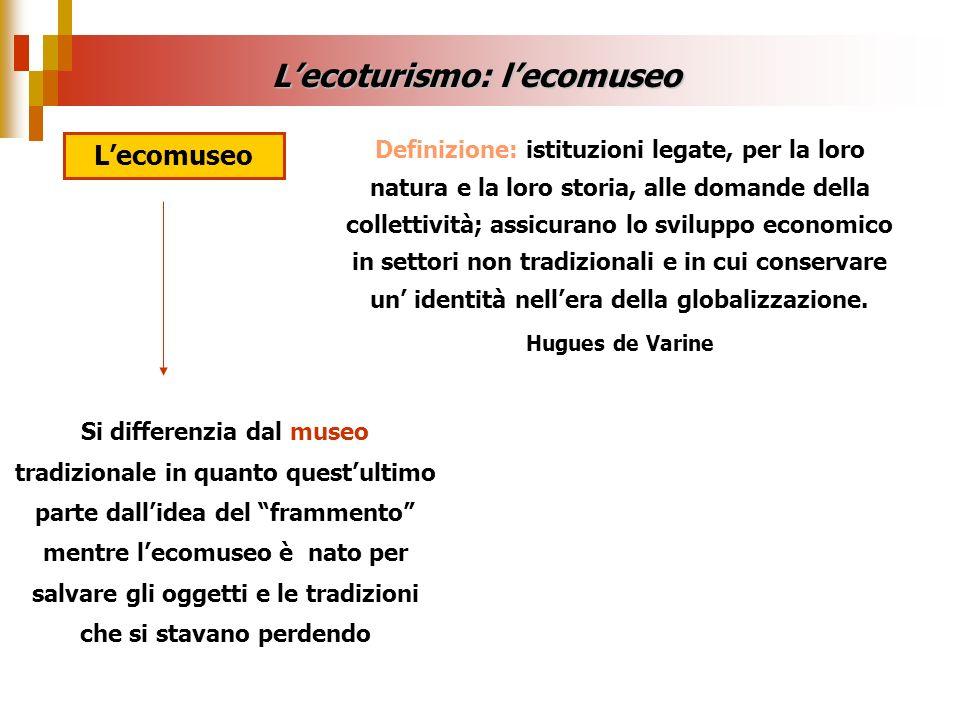 Definizione: istituzioni legate, per la loro natura e la loro storia, alle domande della collettività; assicurano lo sviluppo economico in settori non
