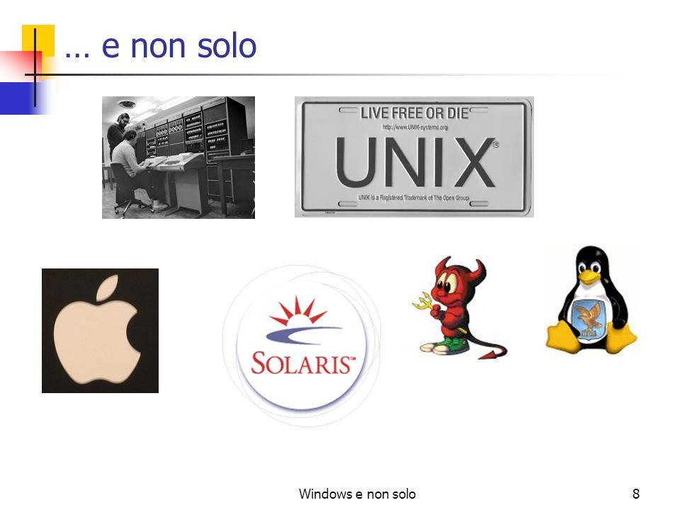 Windows e non solo8 … e non solo