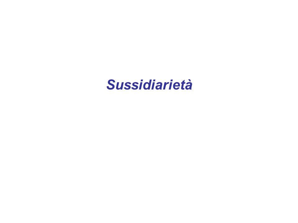 Sussidiarietà