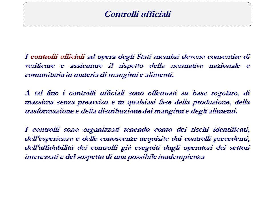 Individuazione delle azioni di controllo a livello territoriale Individuazione degli obiettivi e delle priorità di carattere generale Organizzazione delle attività