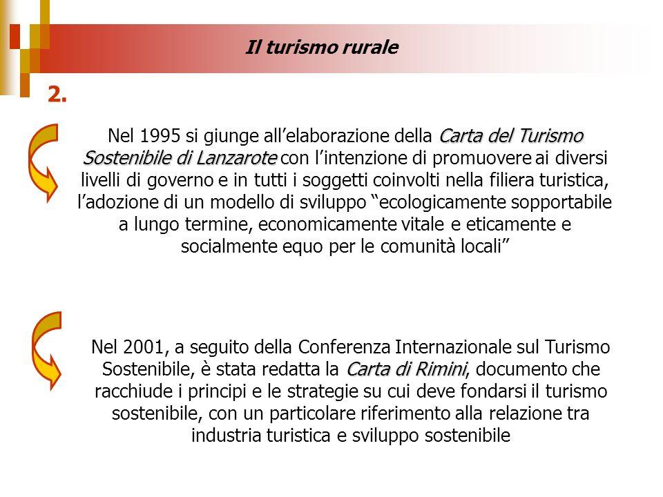 Carta del Turismo Sostenibile di Lanzarote Nel 1995 si giunge allelaborazione della Carta del Turismo Sostenibile di Lanzarote con lintenzione di prom