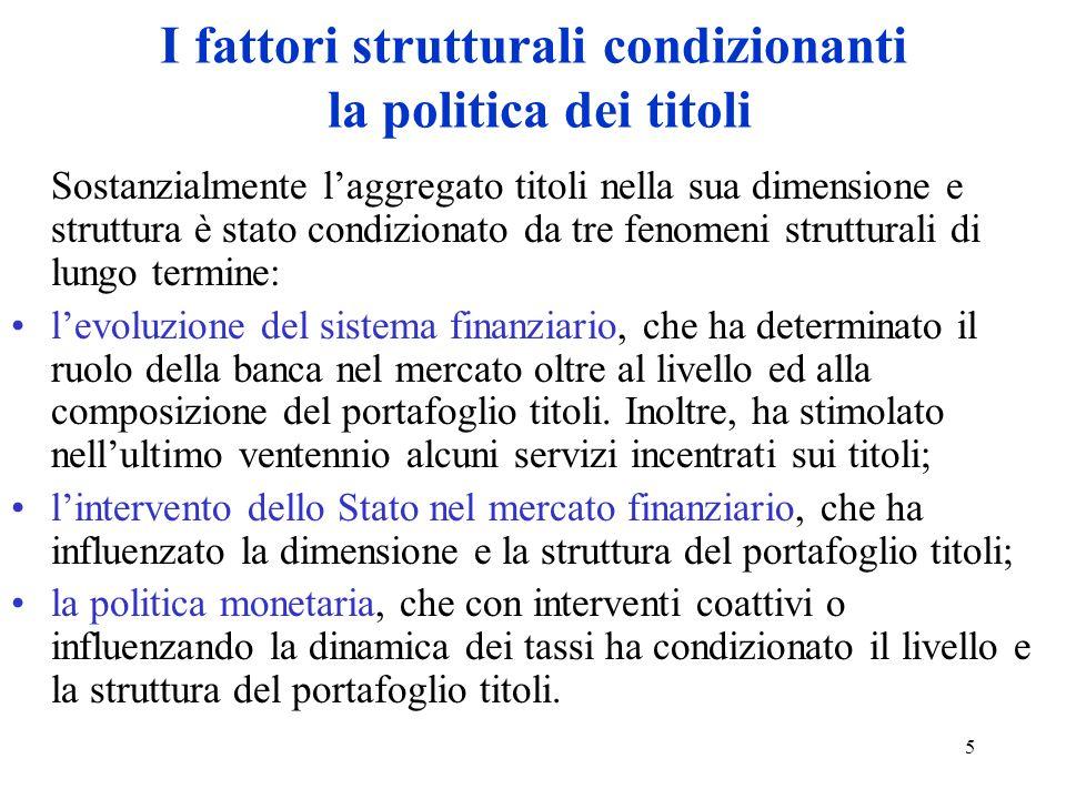 26 La teoria flessibile Per evitare le dette perdite in c/capitale (attuale) o interesse (futuro), la politica residuale viene rettificata.