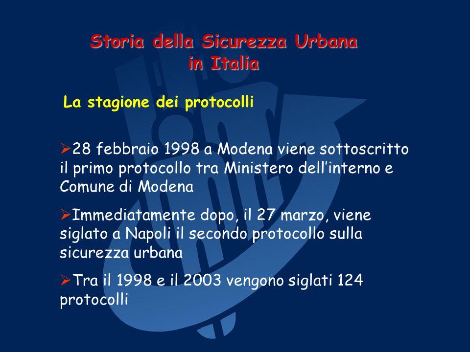 Il Comune di Napoli, con una deliberazione di Giunta Comunale proposta dallAssessore Incostante, si dota di un progetto per la sicurezza urbana e la solidarietà.
