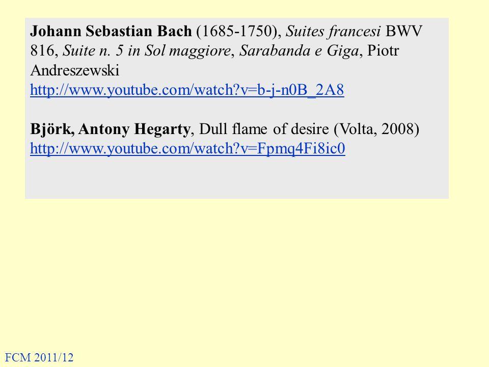Johann Sebastian Bach (1685-1750), Suites francesi BWV 816, Suite n. 5 in Sol maggiore, Sarabanda e Giga, Piotr Andreszewski http://www.youtube.com/wa