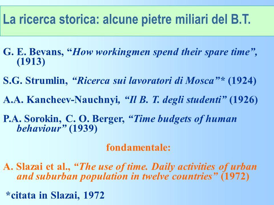 La svolta metodologica del 1965-66 Su proposta di A.