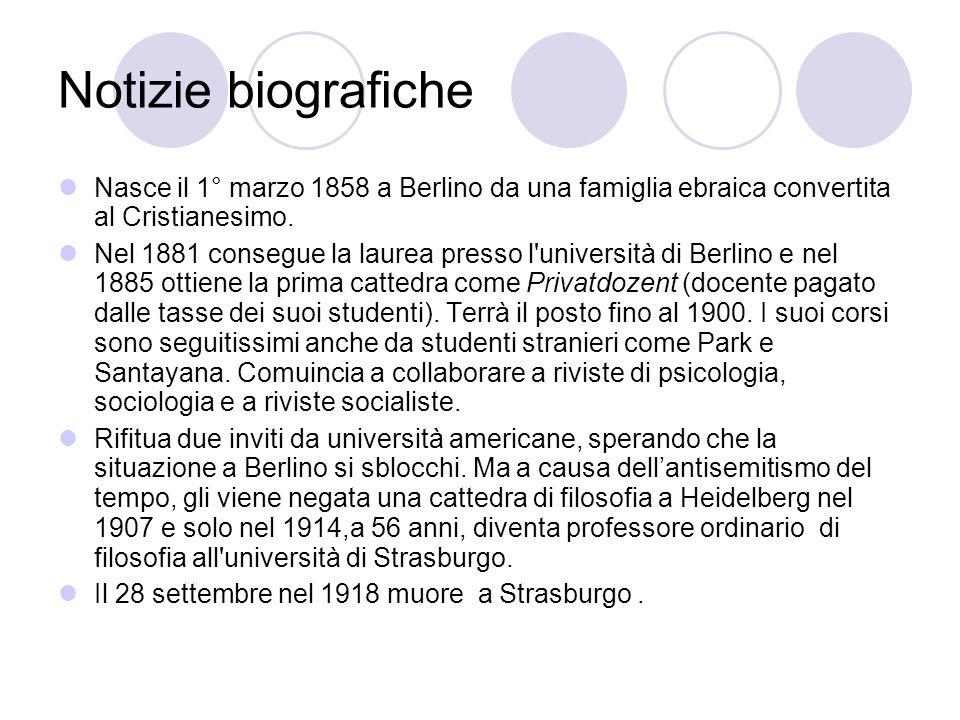 Notizie biografiche Nasce il 1° marzo 1858 a Berlino da una famiglia ebraica convertita al Cristianesimo.