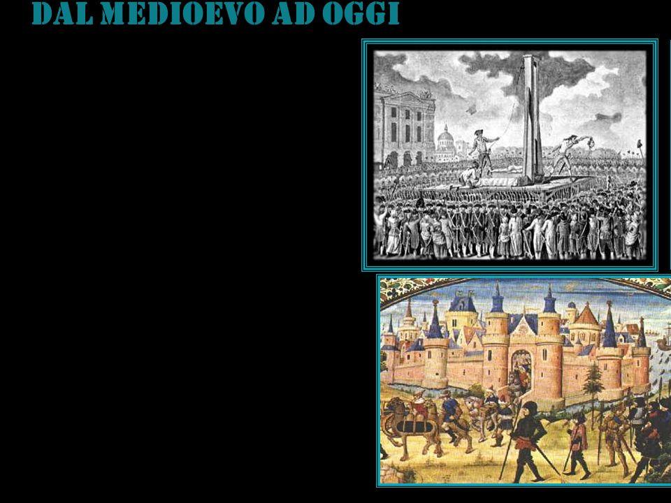 DAL MEDIOEVO AD OGGI In Europa il medioevo è caratterizzato da una grande confusione e sovrapposizione di poteri, che si identificava con il re o con