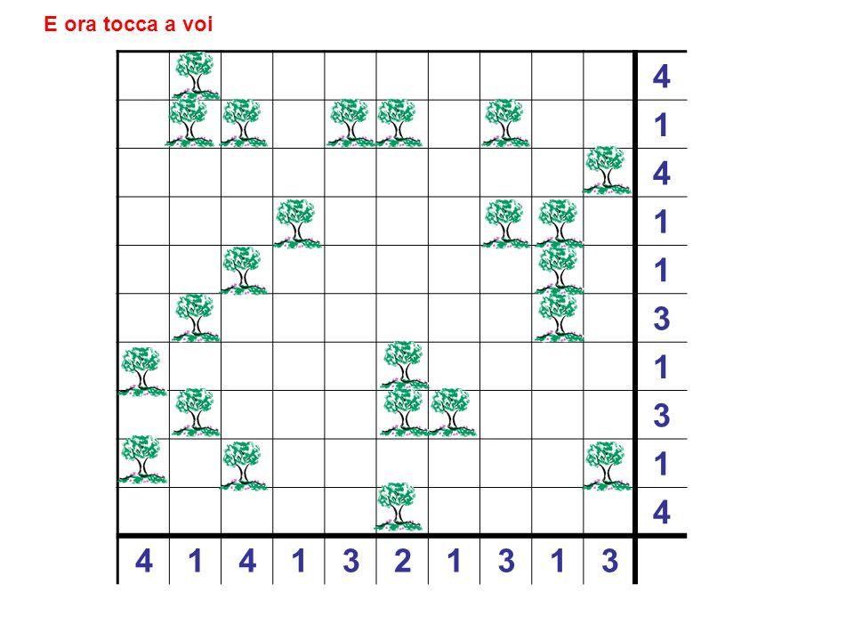 4 1 4 1 1 3 1 3 1 4 4 1 4 1 3 2 1 3 1 3 Soluzione