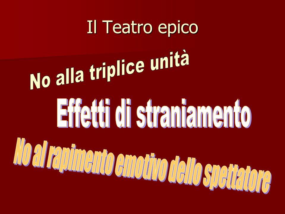 Il Teatro epico