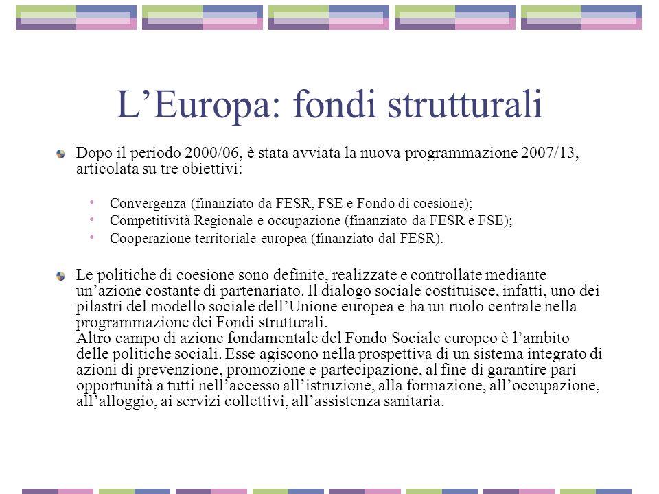 Metodo aperto di coordinamento (MAC o OMC) La cooperazione tra Stati membri sulle politiche è stata perseguita a partire dal 2000 (Consiglio Europeo di Lisbona) usando il Metodo aperto di coordinamento (Mac).