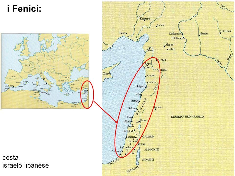 costa israelo-libanese i Fenici: