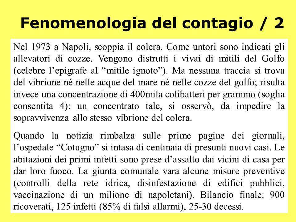 Demos - Storia e Scenari - 215 Fenomenologia del contagio / 2 Nel 1973 a Napoli, scoppia il colera. Come untori sono indicati gli allevatori di cozze.