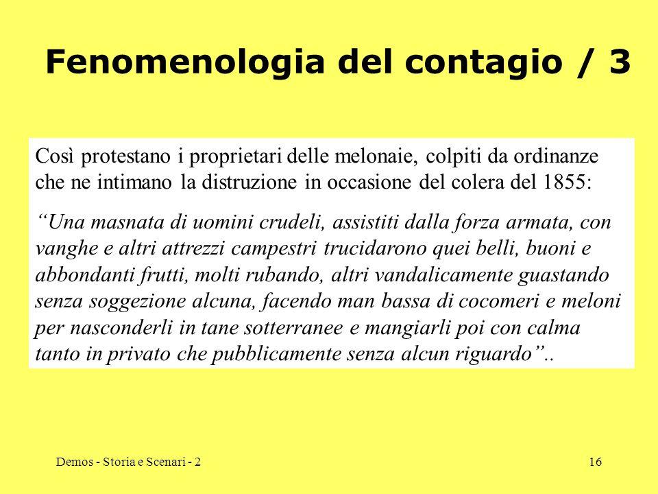 Demos - Storia e Scenari - 216 Fenomenologia del contagio / 3 Così protestano i proprietari delle melonaie, colpiti da ordinanze che ne intimano la di