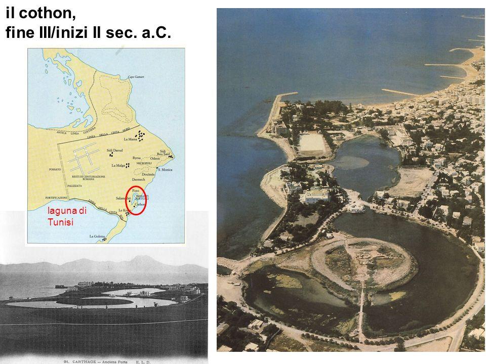 il cothon, fine III/inizi II sec. a.C. laguna di Tunisi