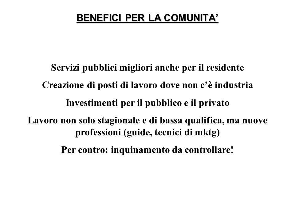 QUALITA NEI SERVIZI TURISTICI COME …PEOPLE!!.