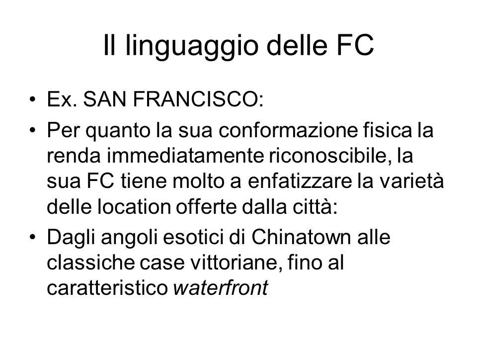 Il linguaggio delle FC Ex.