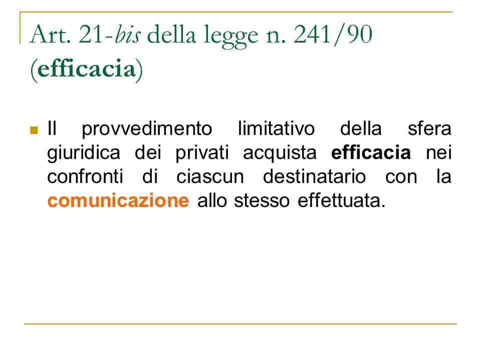 Art. 21-bis della legge n.