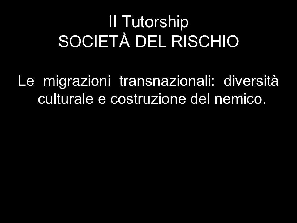 Le migrazioni transnazionali: diversità culturale e costruzione del nemico.