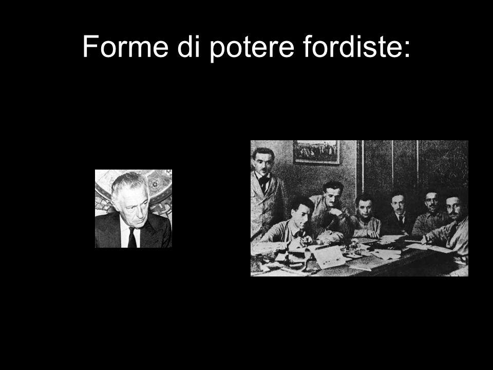 Forme di potere fordiste: