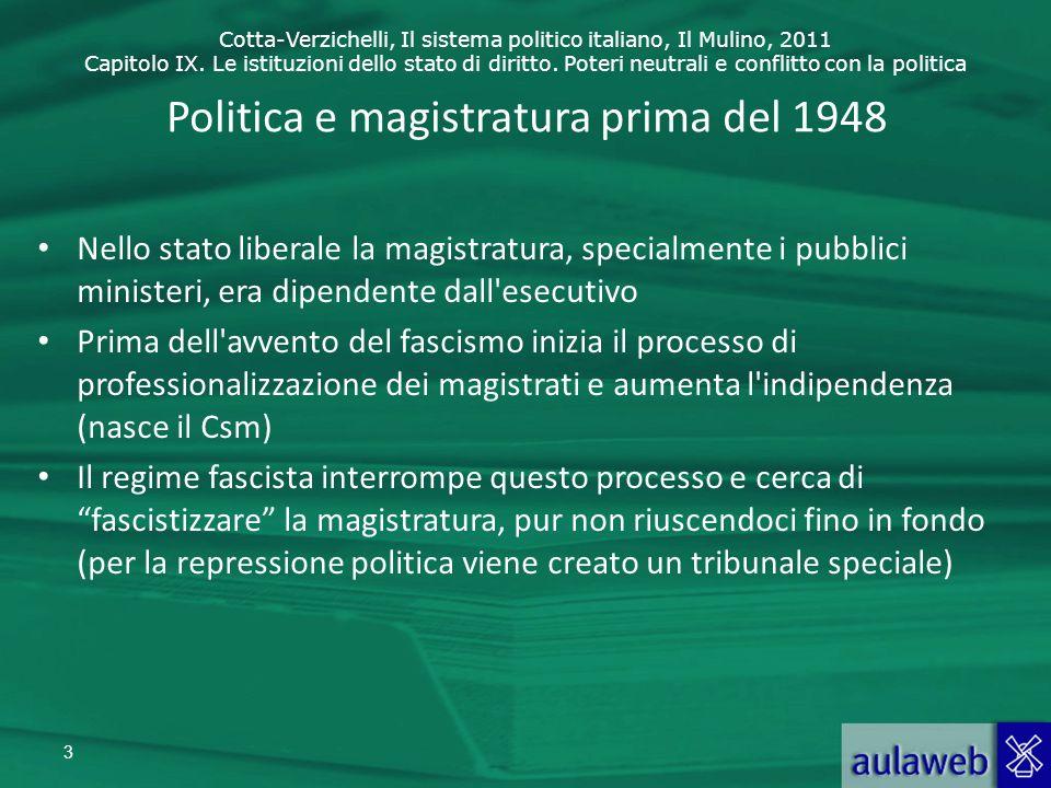 Cotta-Verzichelli, Il sistema politico italiano, Il Mulino, 2011 Capitolo IX.