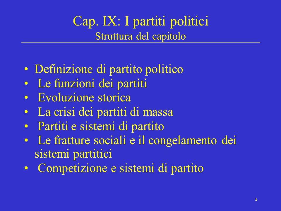 11 La legge ferrea delloligarchia (Michels, 1909)..