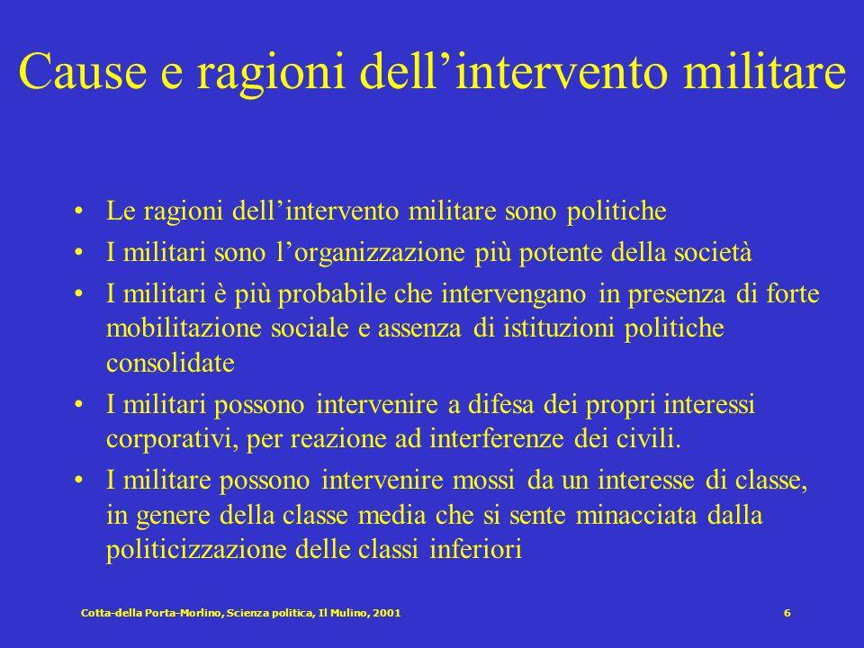 5 Coalizione dominante Mentalità/Ideologia legittimante Mobilitazione dallalto Strutturazione del regime Regimi Autoritari Dimensioni e variazioni ril