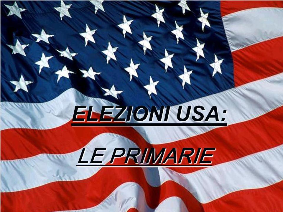 Primarie: superdelegati Le elezioni determinano l80% dei delegati che parteciperanno alla Convention Nazionale del partito democratico.