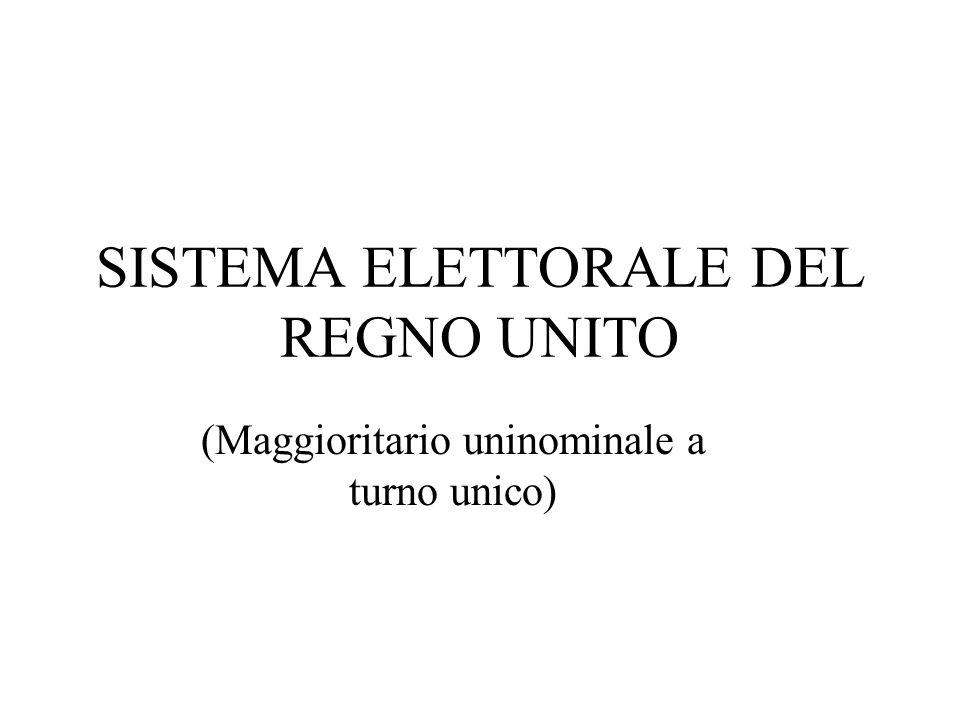 Cosè un sistema elettorale .