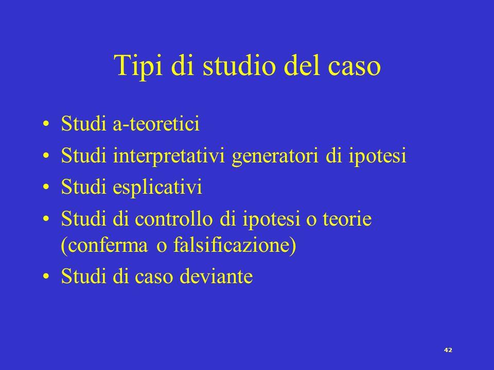 41 CASI CONDIZIONI EFFETTO (VAR.INDIPENDENTE) (VAR.