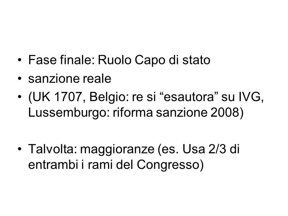 Italia: il presidente valuta il merito costituzionale Il rinvio non impone particolari maggioranze, ma ha rilievo principalmente politico