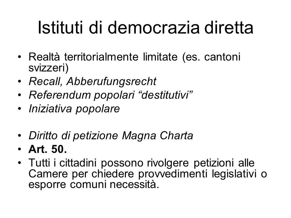 Referendum abrogativo: Corte di Cassazione Corte costituzionale Art.