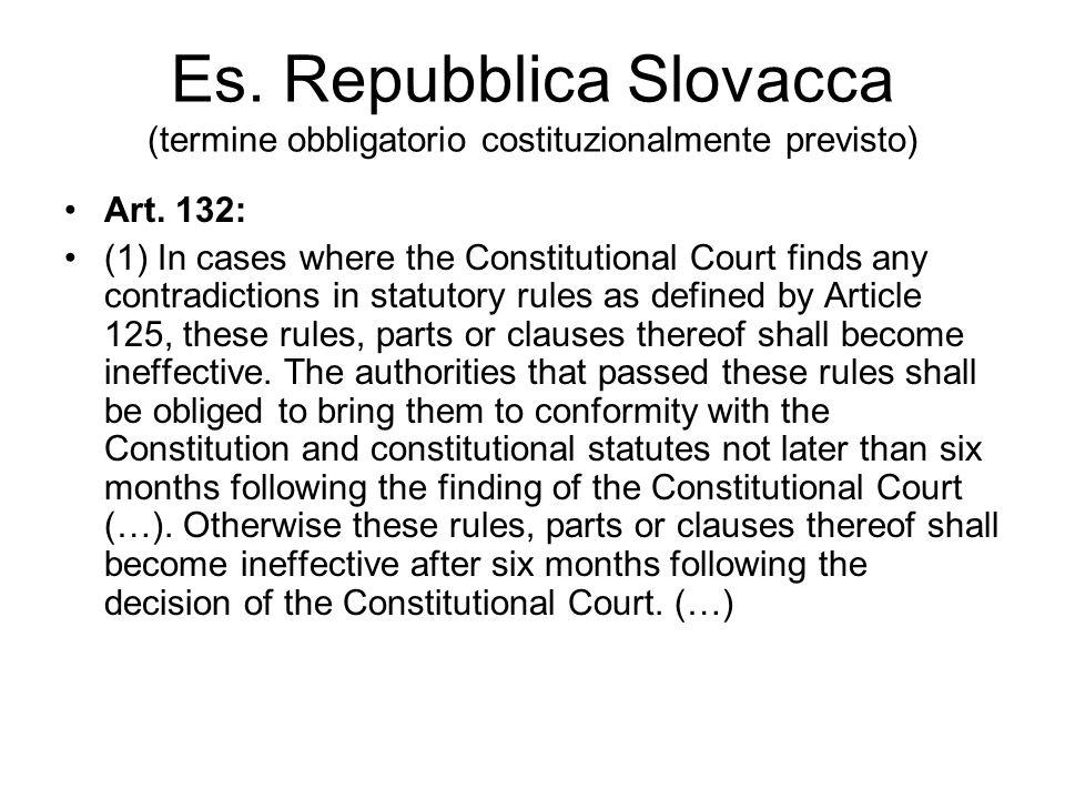Interpretativa di accoglimento: incostituzionalità della norma PER QUESTI MOTIVI LA CORTE COSTITUZIONALE dichiara lillegittimità costituzionale degli artt.