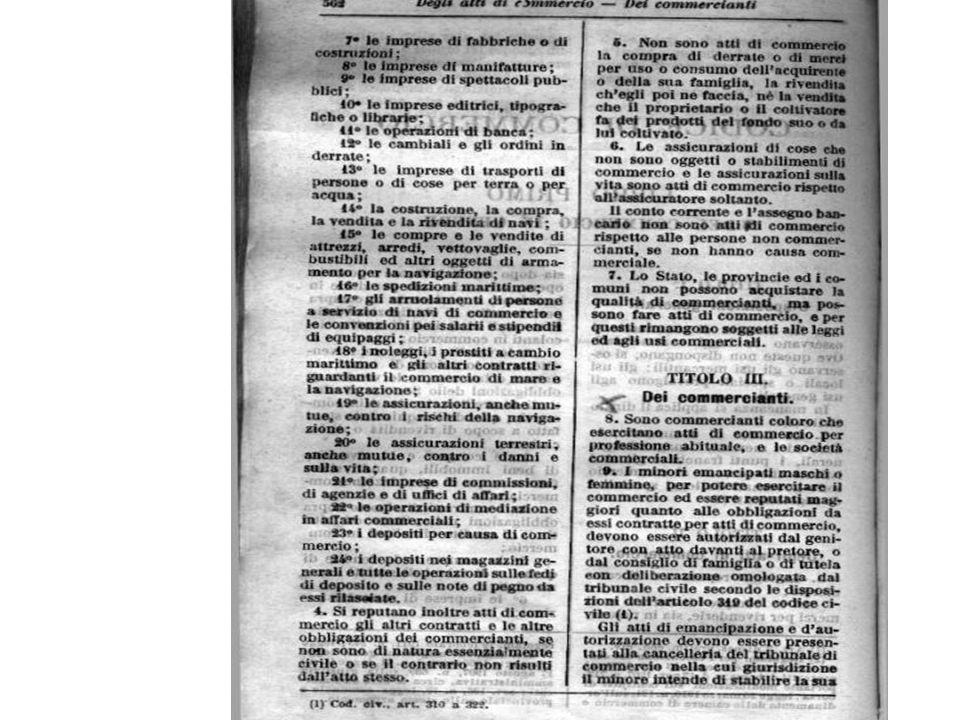 FRANCIA: Code de Commerce 1807