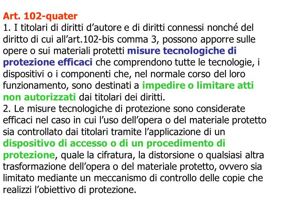 Art. 102-quater 1.