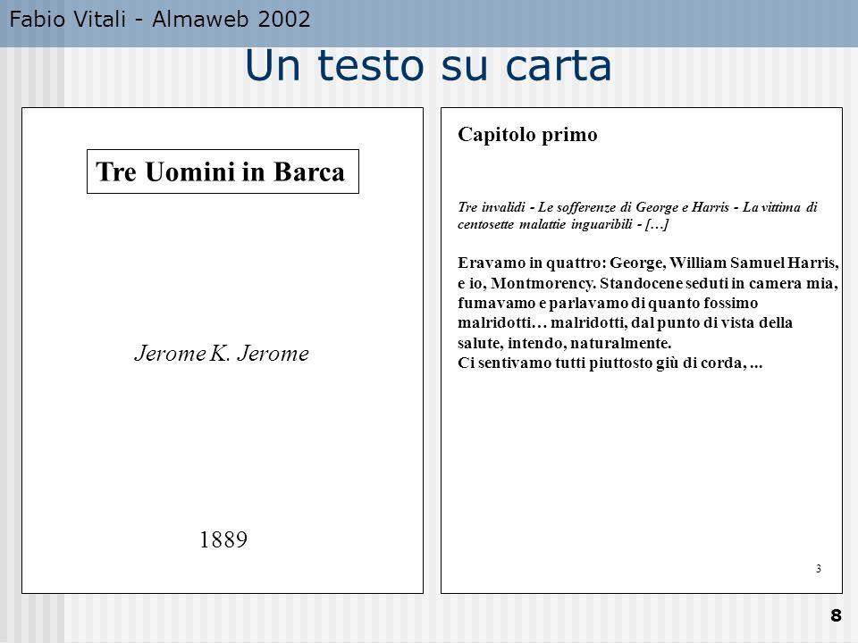 Fabio Vitali - Almaweb 2002 8 Tre Uomini in Barca Jerome K.