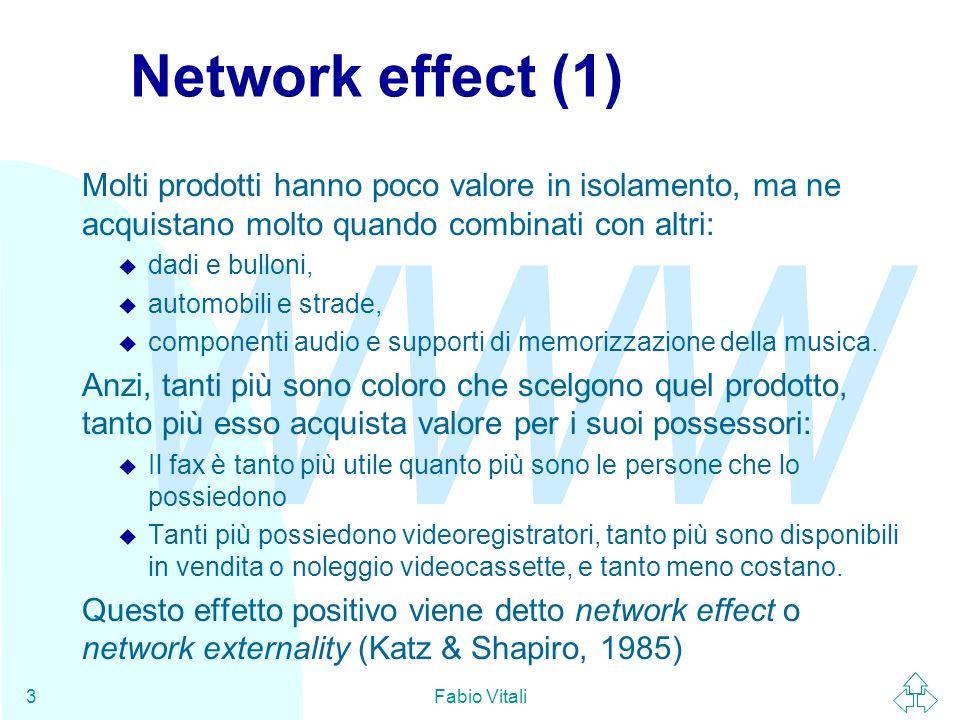 WWW Fabio Vitali34 IETF - Internet Standard Track (1) Alcune specifiche sono destinate a diventare Internet Standard.