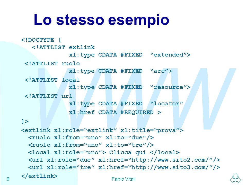 WWW Fabio Vitali10 O perfino...